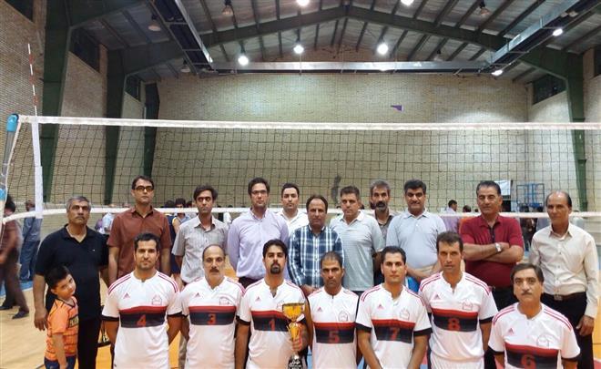 مسابقات بین دانشگاهی والیبال کارکنان آقا در جام رمضان